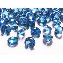 Diamanty 20mm modré/tmavé