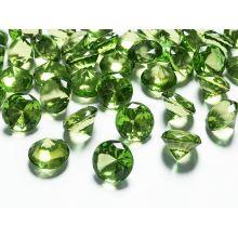Zelené diamanty 20mm