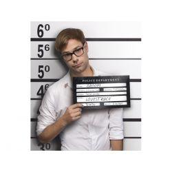 Rekvizita na svadobné fotenie - zatknutie