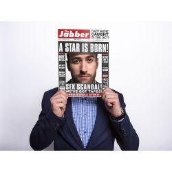 Rekvizita na fotenie - noviny