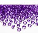 Fialové diamanty 12mm - fialová/slivková farba