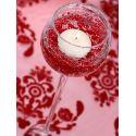 Červená perlová girlanda