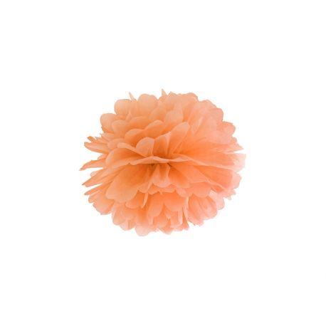 Oranžový Pom pom - 25cm