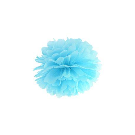 Modrý Pom pom - 25cm