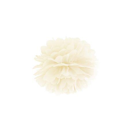 Krémový Pom pom - 25cm