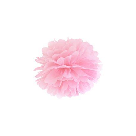 Pom pom 25cm - svetlo ružová farba