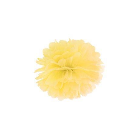 Žltý Pom pom - 25cm
