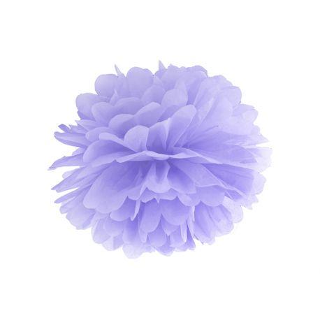 Fialový Pom pom - 35cm