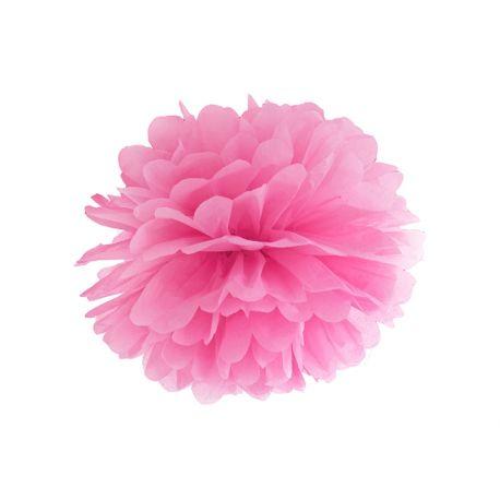 Ružový Pom pom - 35cm