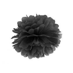 Pom pom čierny - 35cm