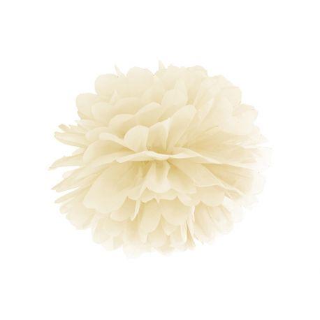 Krémový Pom pom - 35cm