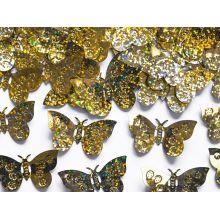 Konfety motýle zlaté