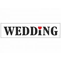 Svadobná ŠPZ - WEDDING