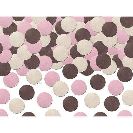 Ružové konfety na stôl - Sweets