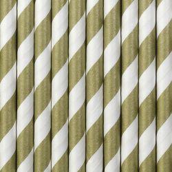 Zlaté papierové slamky