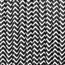 Čierne papierové slamky