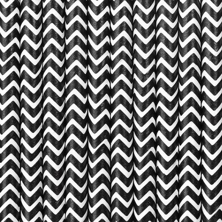 Papierové slamky čierne