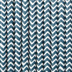 Modré papierové slamky