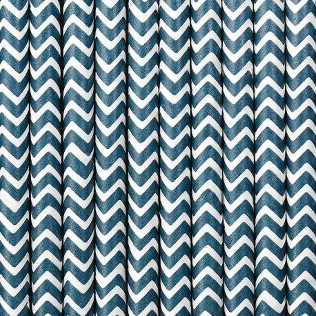 Papierové slamky modré