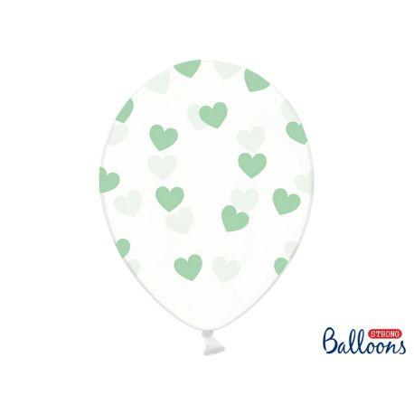 Mentolové srdiečka - biely balón