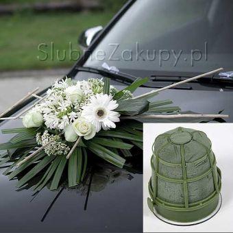 Prísavky na svadobné auto