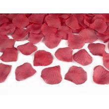 Vystreľovacie konfety - bordové lupene