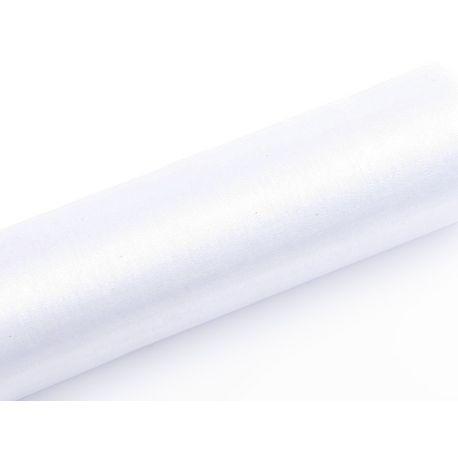 Biela organza - 16cm