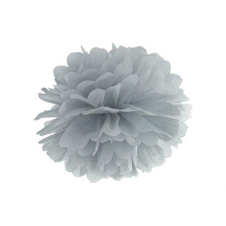 Sivý Pom pom - 35cm