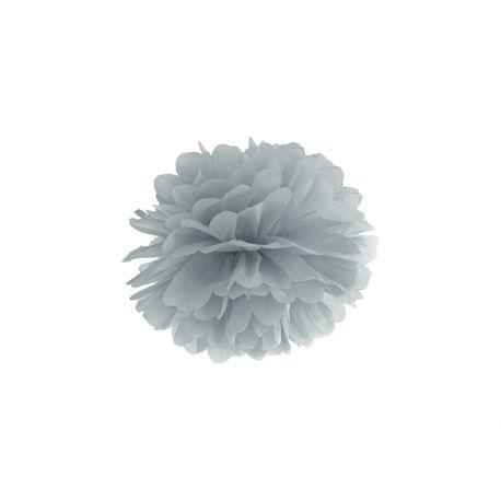 Sivý Pom pom - 25cm
