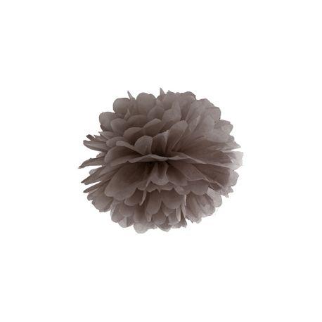 Hnedý Pom pom - 25cm
