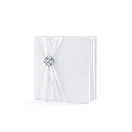 Svadobná kniha hostí s brošňou