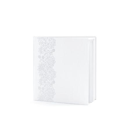 Svadobná kniha hostí s ornamentom