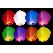 Farebný mix 10ks - Lietajúce lampióny
