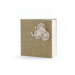 Svadobná kniha hostí - vintage