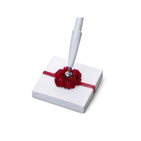 Svadobné pero so stojančekom