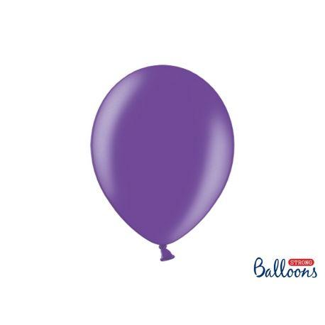 Fialový metalický balón