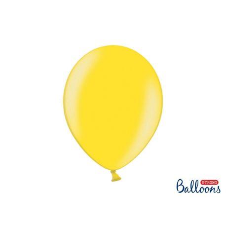 Žltý metalický balón