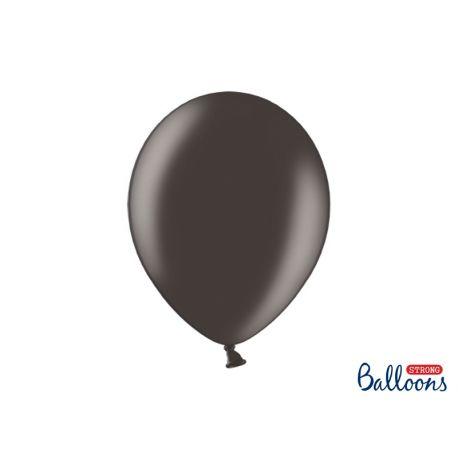 Čierny metalický balón