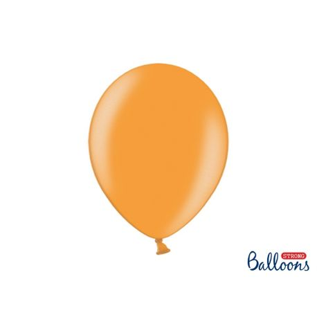 Oranžový metalický balón