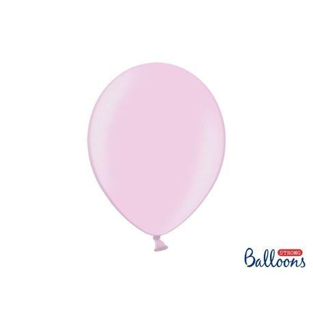 Ružový metalický balón