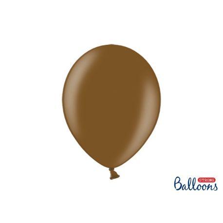 Hnedý metalický balón