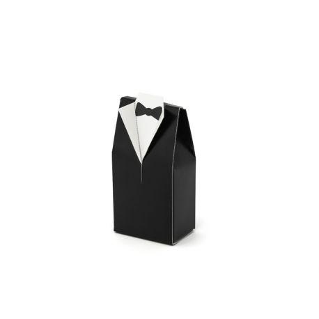 Krabička na darčeky pre hostí - frak