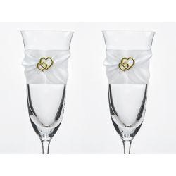Svadobné poháre na šampanské