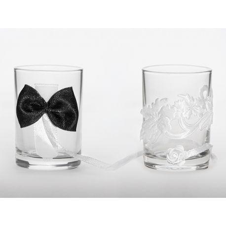 Originálne svadobné poháriky
