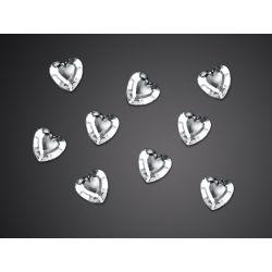 Ozdobné kamienky - srdce