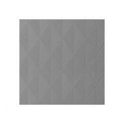 Sivé luxusné obrúsky Elegance 40ks