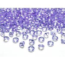 Fialové diamanty 12mm