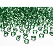 Zelené diamanty 12mm