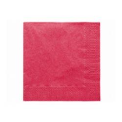Papierové obrúsky Standard 33cm/20ks - bordové