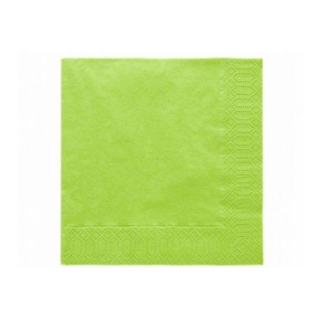 Papierové obrúsky Standard 33cm/20ks - svetlo zelená